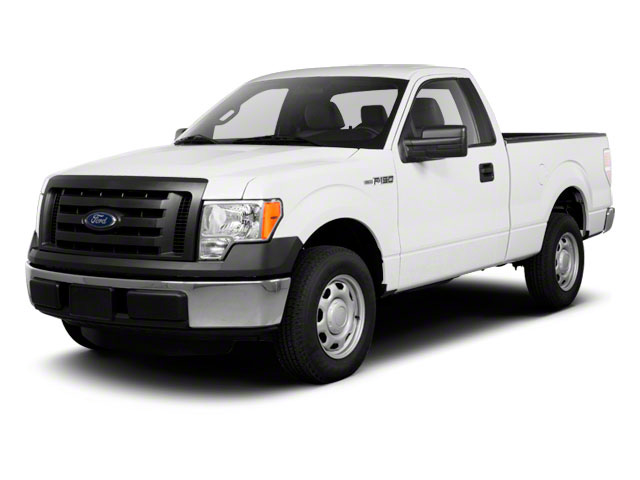 2011 Ford F-150 Prices and Values Regular Cab XL 2WD side front view