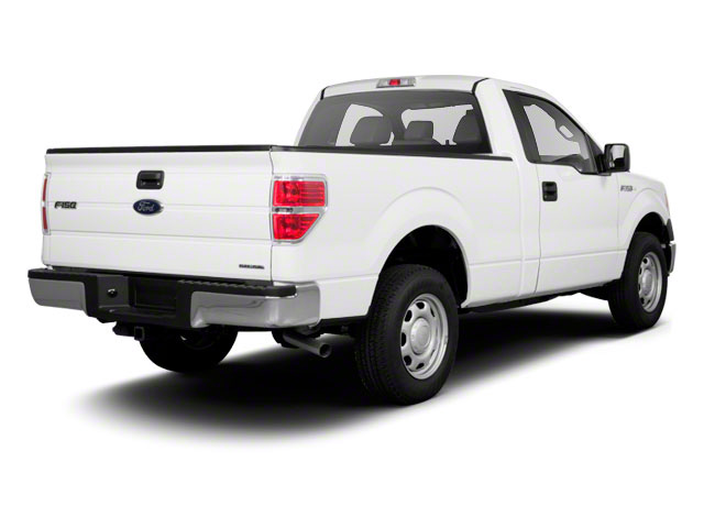 2011 Ford F-150 Prices and Values Regular Cab XL 2WD side rear view