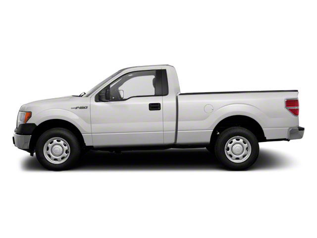 2011 Ford F-150 Pictures F-150 Regular Cab XLT 2WD photos side view
