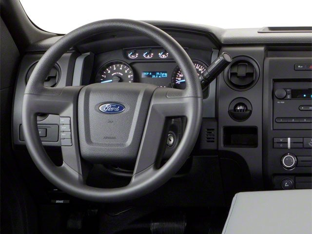 2011 Ford F-150 Prices and Values Regular Cab XL 2WD driver's dashboard
