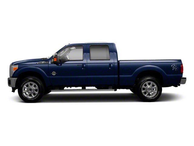 2011 Ford Super Duty F-250 SRW Prices and Values Crew Cab Lariat 4WD side view