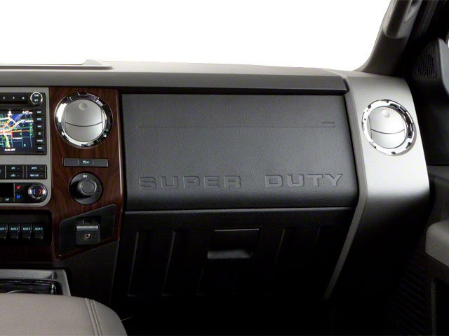 2011 Ford Super Duty F-250 SRW Prices and Values Crew Cab Lariat 4WD passenger's dashboard
