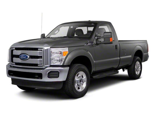 2011 Ford Super Duty F-250 SRW Pictures Super Duty F-250 SRW Regular Cab XL 4WD photos side front view