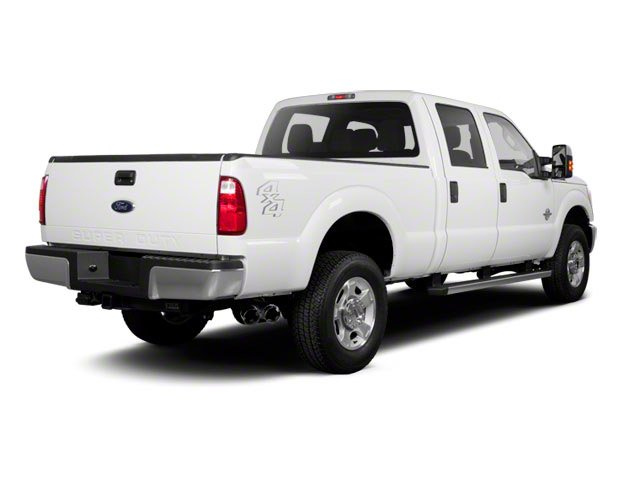 2011 Ford Super Duty F-350 DRW Prices and Values Crew Cab King Ranch 4WD side rear view