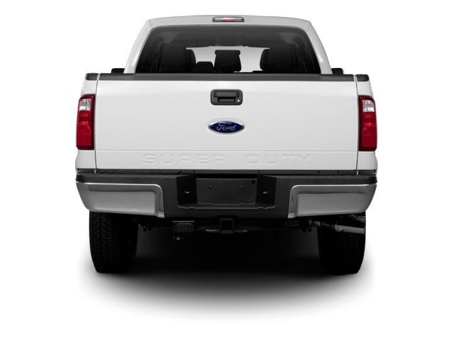 2011 Ford Super Duty F-350 DRW Prices and Values Crew Cab King Ranch 4WD rear view