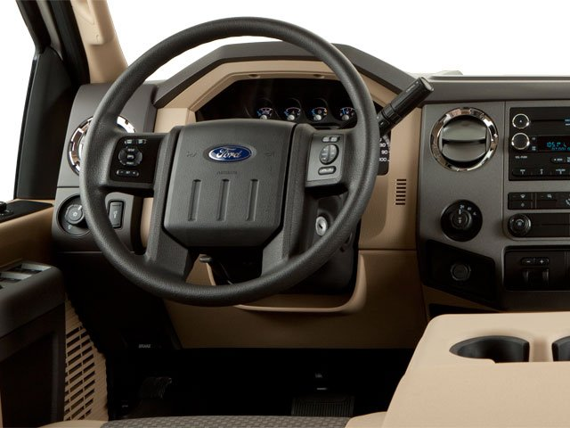 2011 Ford Super Duty F-350 DRW Prices and Values Crew Cab King Ranch 4WD driver's dashboard