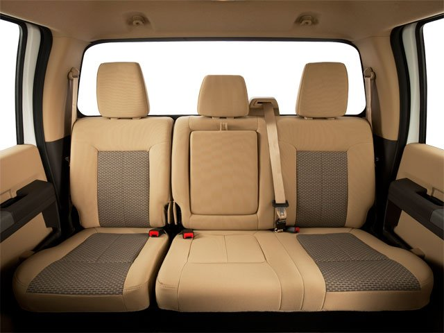 2011 Ford Super Duty F-350 DRW Prices and Values Crew Cab King Ranch 4WD backseat interior
