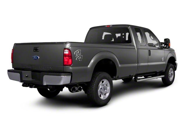 2011 Ford Super Duty F-350 DRW Prices and Values Supercab Lariat 2WD side rear view