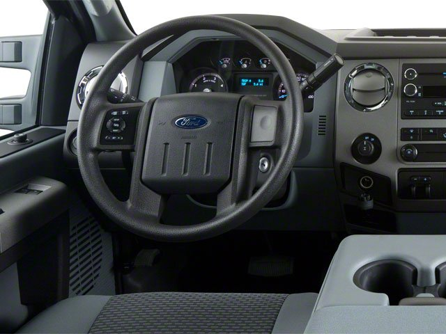 2011 Ford Super Duty F-350 DRW Prices and Values Supercab Lariat 2WD driver's dashboard