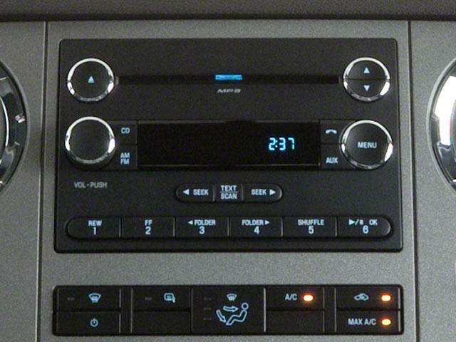 2011 Ford Super Duty F-350 DRW Prices and Values Supercab Lariat 2WD stereo system