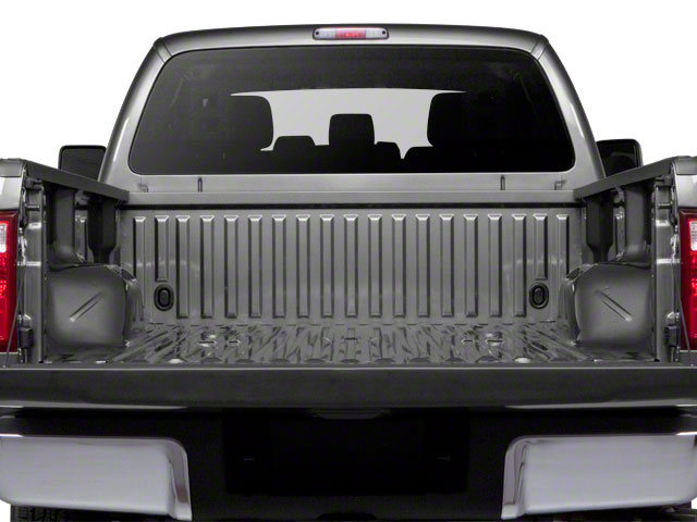 2011 Ford Super Duty F-350 DRW Prices and Values Supercab Lariat 2WD open trunk