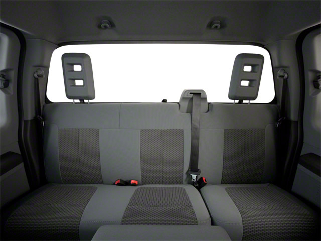 2011 Ford Super Duty F-350 DRW Prices and Values Supercab Lariat 2WD backseat interior