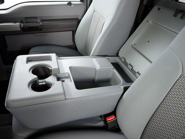 2011 Ford Super Duty F-350 DRW Prices and Values Supercab Lariat 2WD center storage console