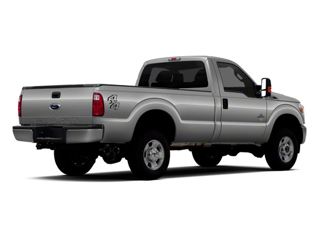 2011 Ford Super Duty F-350 DRW Prices and Values Regular Cab XLT 4WD side rear view
