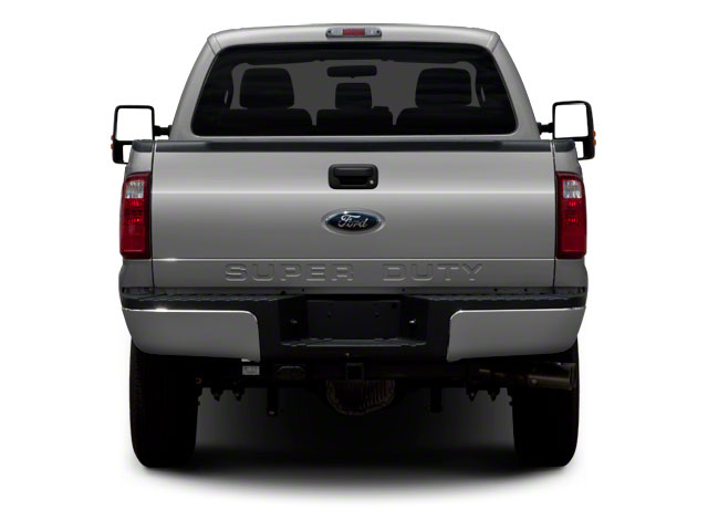 2011 Ford Super Duty F-350 DRW Prices and Values Regular Cab XLT 4WD rear view