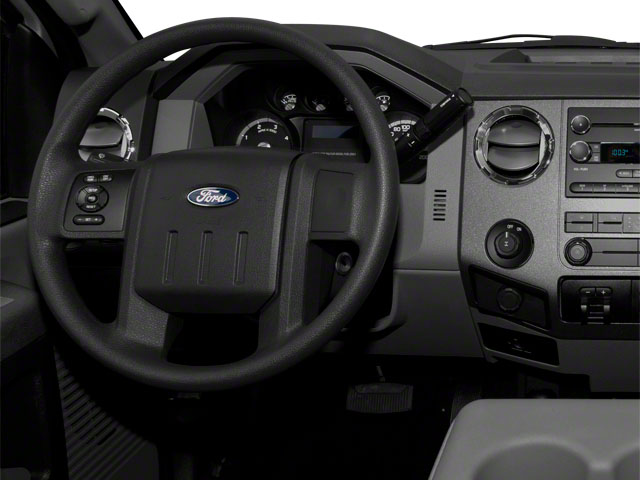 2011 Ford Super Duty F-350 DRW Prices and Values Regular Cab XLT 4WD driver's dashboard