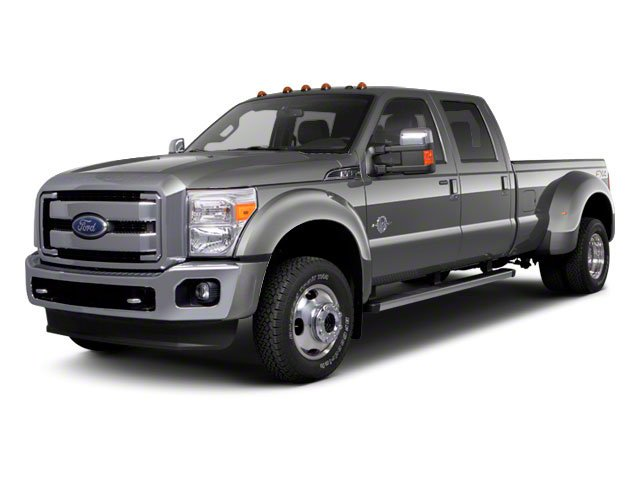 2011 Ford Super Duty F-450 DRW Pictures Super Duty F-450 DRW Crew Cab Lariat 4WD T-Diesel photos side front view