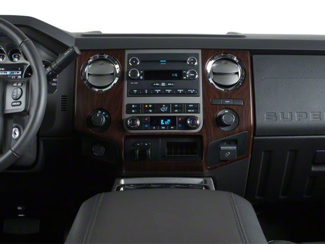 2011 Ford Super Duty F-450 DRW Pictures Super Duty F-450 DRW Crew Cab Lariat 4WD T-Diesel photos center dashboard