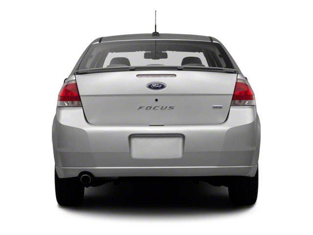 2011 Ford Focus Prices and Values Sedan 4D SEL rear view