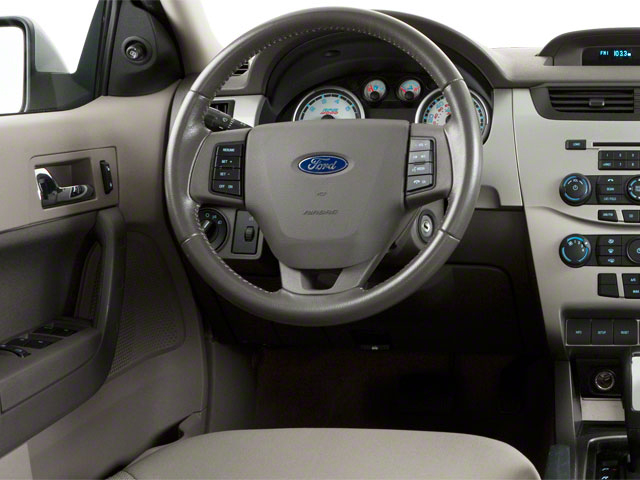 2011 Ford Focus Prices and Values Sedan 4D SEL driver's dashboard