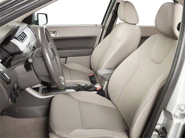 2011 Ford Focus Prices and Values Sedan 4D SEL front seat interior