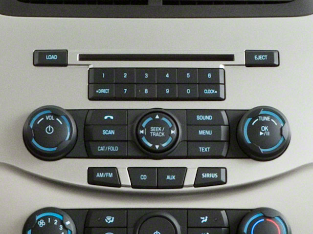 2011 Ford Focus Prices and Values Sedan 4D SEL stereo system