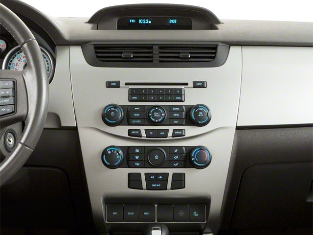 2011 Ford Focus Prices and Values Sedan 4D SEL center console