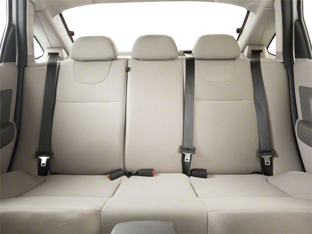 2011 Ford Focus Prices and Values Sedan 4D SEL backseat interior