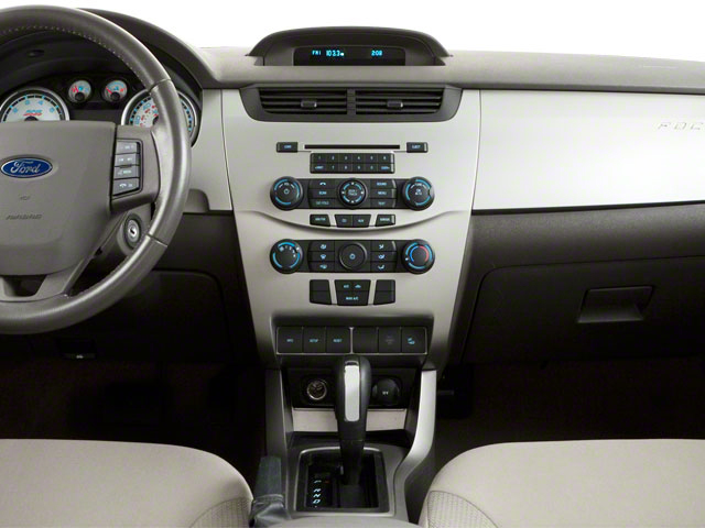 2011 Ford Focus Prices and Values Sedan 4D SEL center dashboard