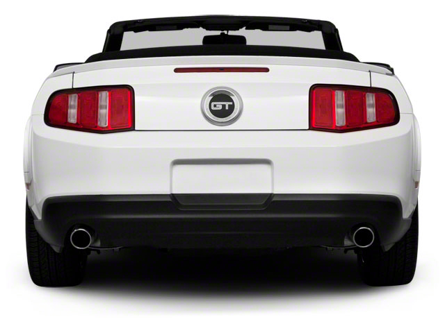 2011 Ford Mustang Pictures Mustang Convertible 2D GT photos rear view