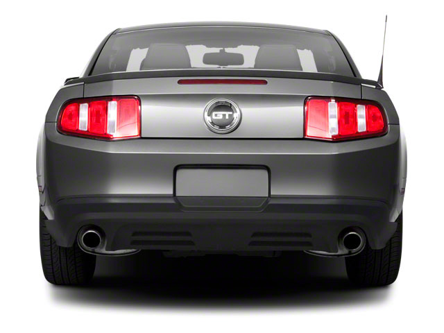 2011 Ford Mustang Prices and Values Coupe 2D GT rear view