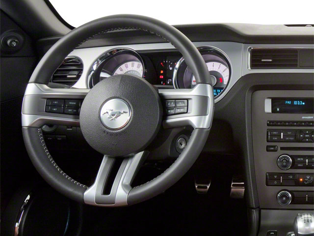 2011 Ford Mustang Prices and Values Coupe 2D GT driver's dashboard