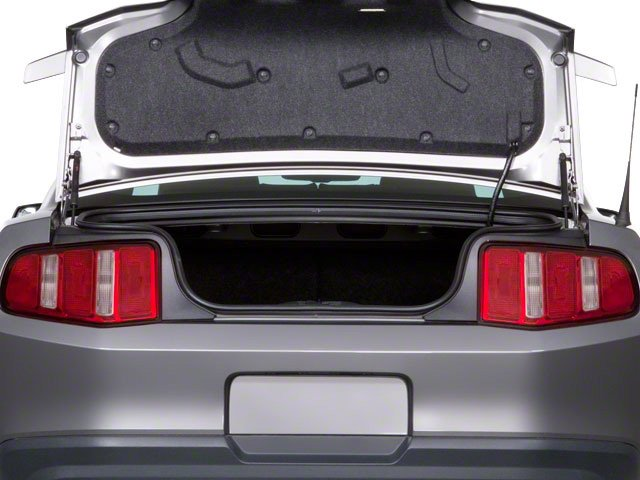 2011 Ford Mustang Prices and Values Coupe 2D GT open trunk