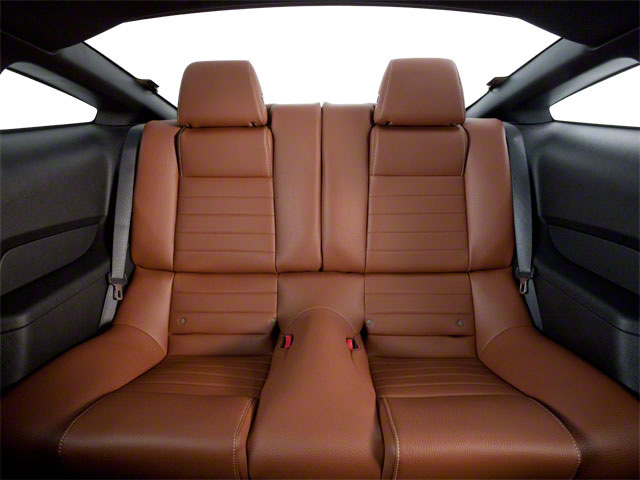 2011 Ford Mustang Prices and Values Coupe 2D GT backseat interior
