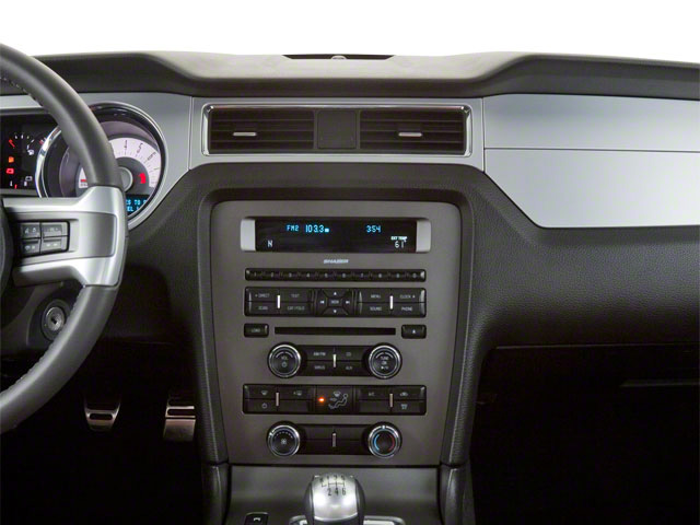 2011 Ford Mustang Prices and Values Coupe 2D GT center dashboard