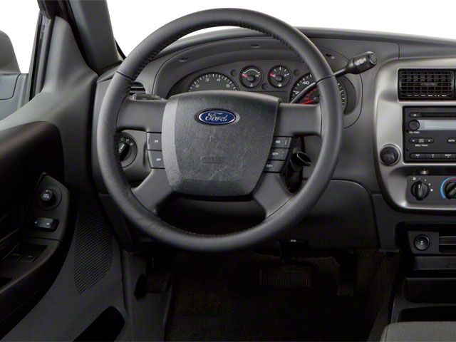 2011 Ford Ranger Prices and Values Supercab 2D XL driver's dashboard