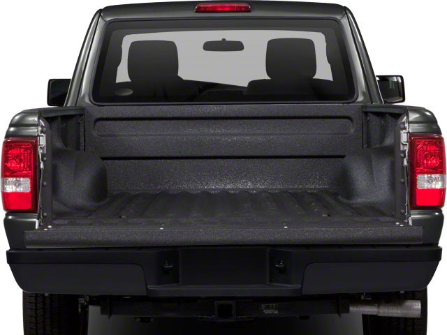2011 Ford Ranger Prices and Values Supercab 2D XL open trunk