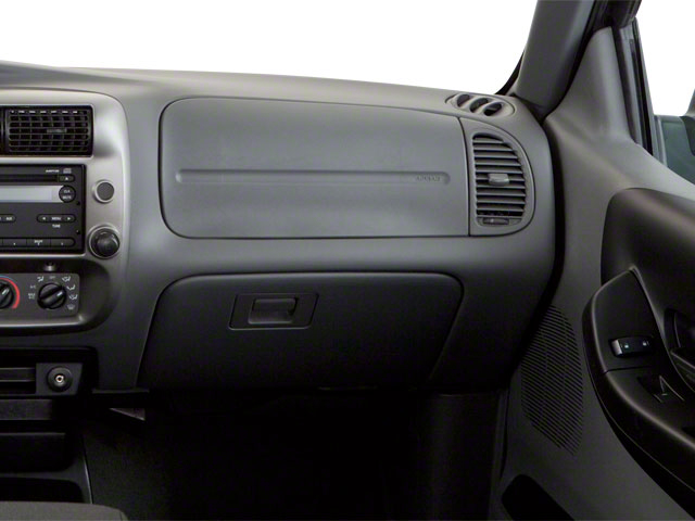 2011 Ford Ranger Prices and Values Supercab 2D XL passenger's dashboard