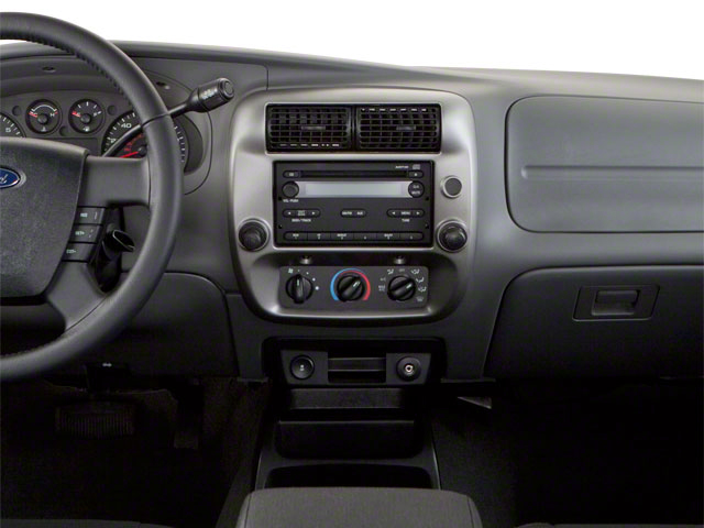 2011 Ford Ranger Prices and Values Supercab 2D XL center dashboard