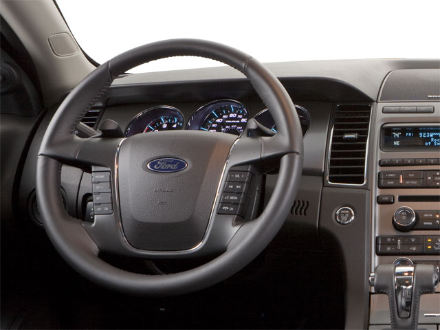 2011 Ford Taurus Prices and Values Sedan 4D SHO AWD driver's dashboard