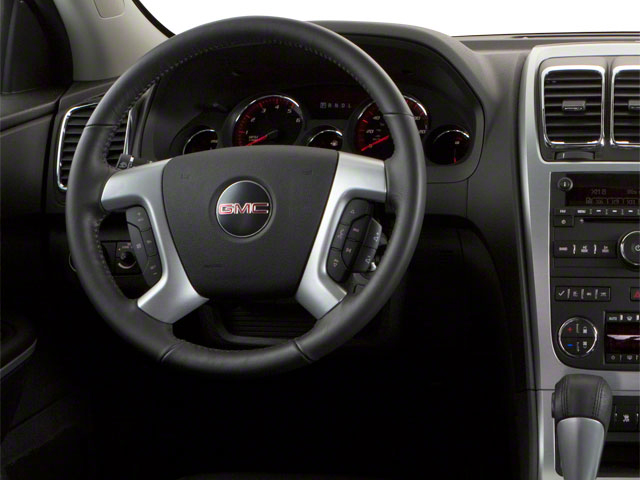 2011 GMC Acadia Prices and Values Wagon 4D SL 2WD driver's dashboard