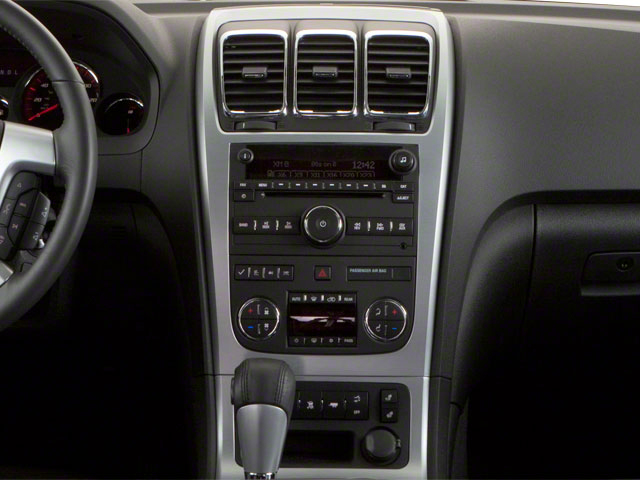 2011 GMC Acadia Prices and Values Wagon 4D SL 2WD center console