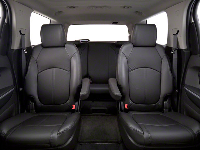 2011 GMC Acadia Prices and Values Wagon 4D SL 2WD backseat interior