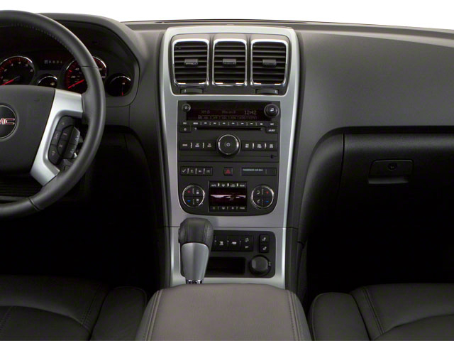 2011 GMC Acadia Prices and Values Wagon 4D SL 2WD center dashboard