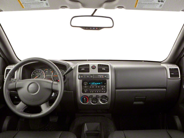 2011 GMC Canyon Prices and Values Crew Cab SLT full dashboard