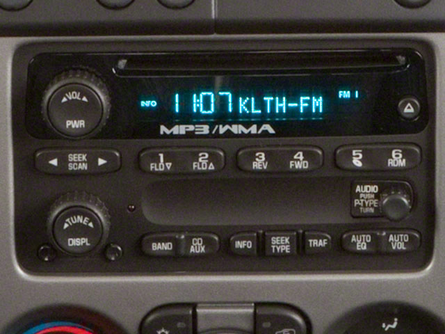 2011 GMC Canyon Prices and Values Crew Cab SLT stereo system