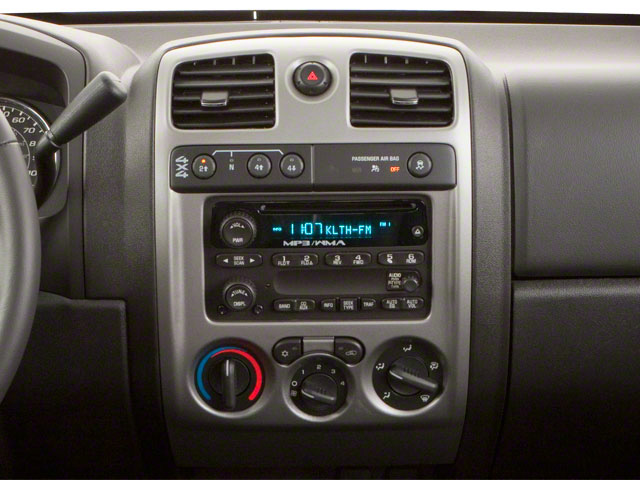 2011 GMC Canyon Prices and Values Crew Cab SLT center console