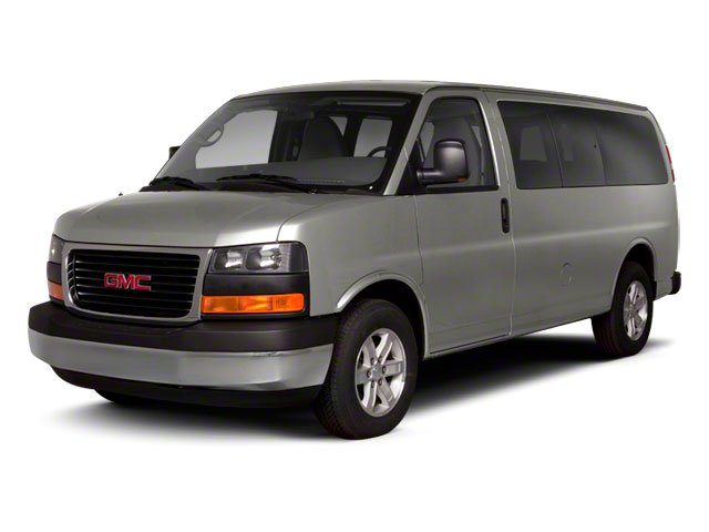 2011 GMC Savana Passenger Pictures Savana Passenger Savana LS 135 photos side front view