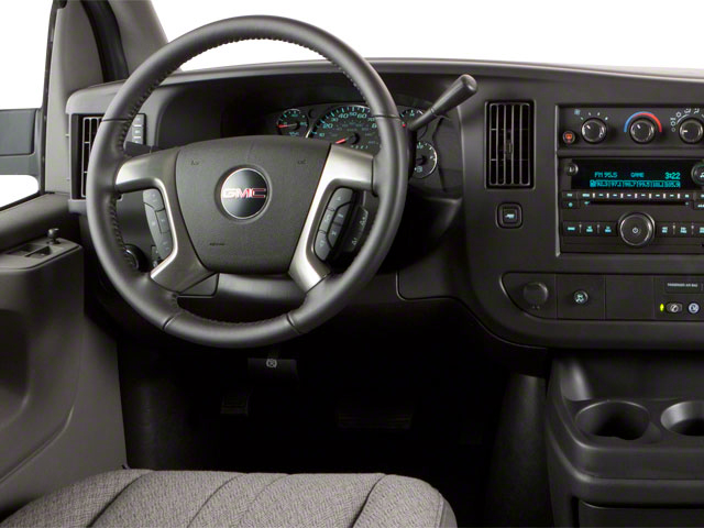 2011 GMC Savana Passenger Pictures Savana Passenger Savana LS 135 photos driver's dashboard