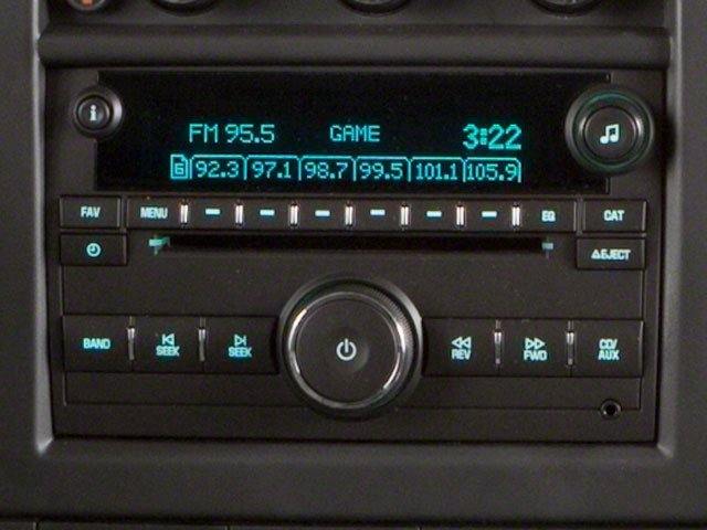 2011 GMC Savana Passenger Prices and Values Extended Savana LS 155  stereo system